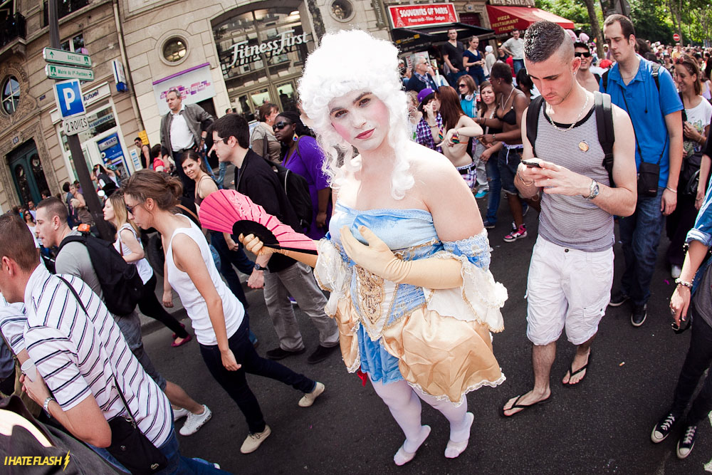 La Marche des Fiertés - A Marcha do Orgulho Gay de Paris