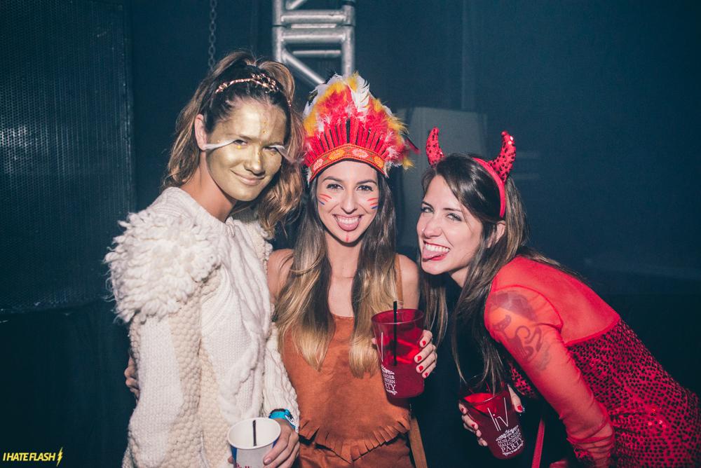 Ausländer Halloween Party