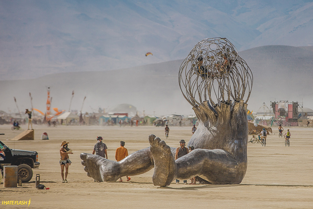 Burning Man 2015: The Day