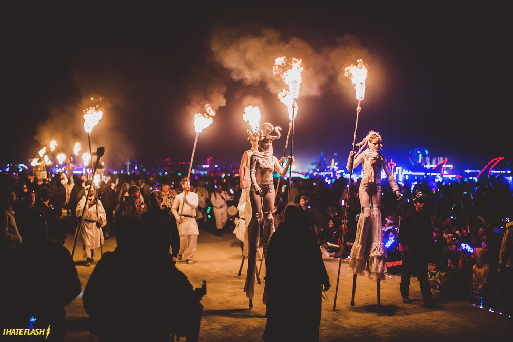 Burning Man 2015: The Night